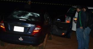 Homem foi assassinado a tiros em Ponta Porã - Foto: Porã News