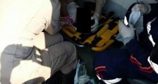 Ação rápida de Bombeiros e Samu salvou criança vítima de afogamento (Foto: Adilson Domingos / Jornal O Vigilante MS)