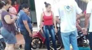 Jovem foi executada com cinco tiros em cidade paraguaia nesta quarta (Foto: Porã News)