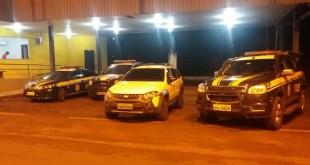 Fiat Palio recuperado pela PRF- Foto (Divulgação